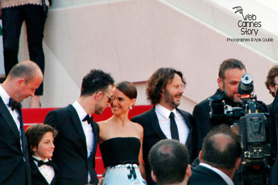 Equipe du film de Natalie Portman - Festival de Cannes 2015 © Anik COUBLE ,