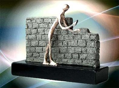 Imposante Kunst Skulptur für Firmenevents