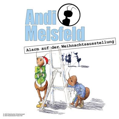 CD-Cover Andi Meisfeld Alarm auf der Weihnachtsausstellung