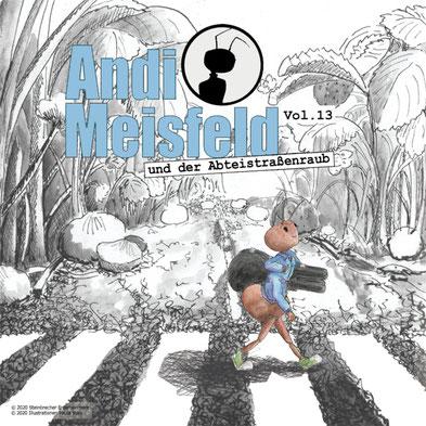 CD-Cover Andi Meisfeld Abteistraßenraub