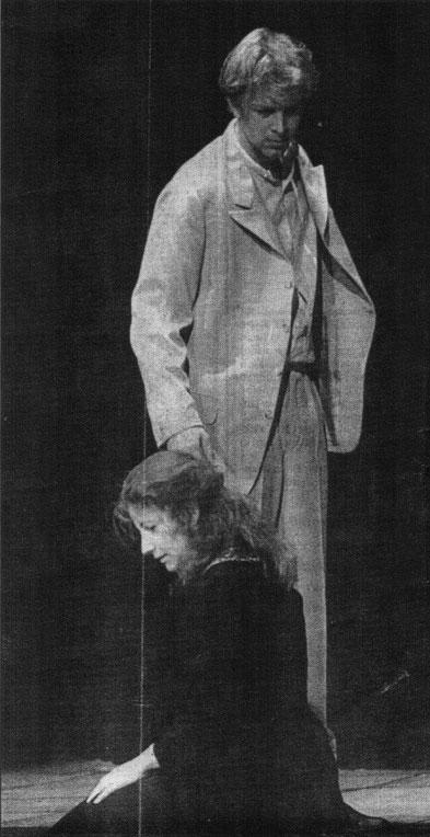 "1987 ""Maria Magdalena"" Ernst-Deutsch-Theater Jochen Horst & Silke Jensen"