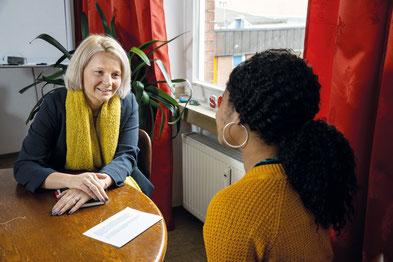 Joanna Ostrowicki leitet SOLWODI in Duisburg  I  Foto: Achim Pohl, Bistum Essen
