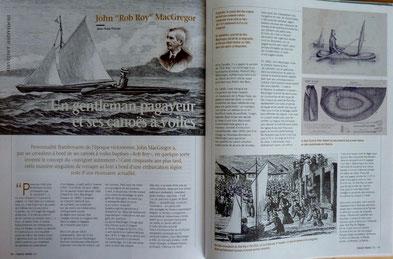 "POIRIER, John ""Rob Roy"" MacGregor, un gentleman pagayeur, in Chasse-marée n°202, 2008 (la Bibli du Canoe)"