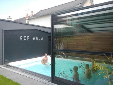 aquabike aquabiking aquacycling rennes ker aqua piscine