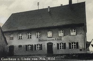 ehemaliges Gasthaus zur Linde in Bachhausen