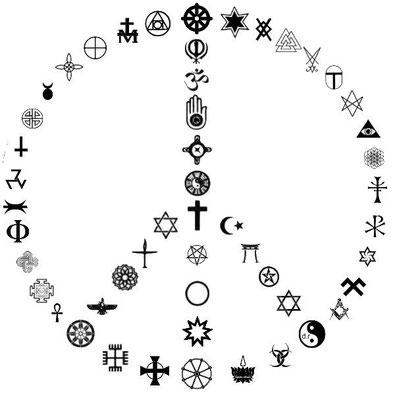 Religiöse Symbole