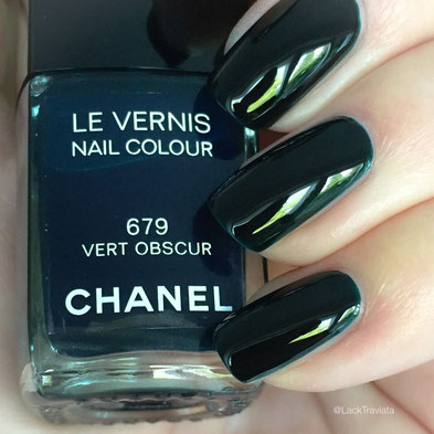 SWATCH CHANEL VERT OBSCUR 679 by LackTraviata