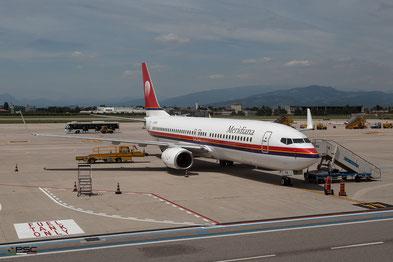 Boeing 737-800 Meridiana, foto archivio PSC