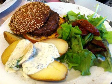 Burger au Comté du Béguin