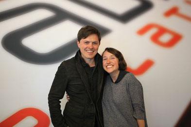 Carla Keller mit Patrick Michael Kelly