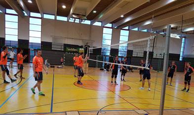 Das Pokalfinale 2018: VC-DJK Passau gegen VC Eitting 09