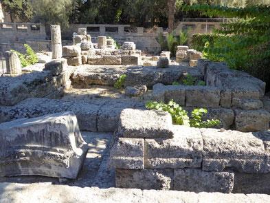 Aphrodite Tempel von Rhodos Stadt