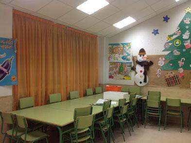 Comedor y Aula Matinal - colegio Fontanar Soledad
