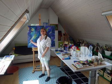 Mein Atelier...