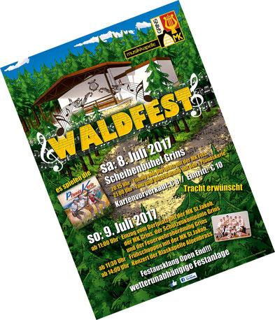 MK-Grins, Waldfest 2016