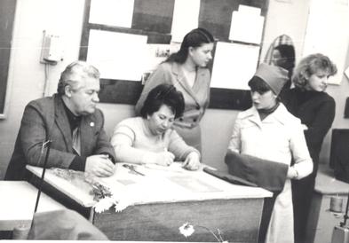 Слева направо: Воробьев И. В.,   Тимошенко Г. И.,   Костян  Н. В,  Костян Н. Ф.