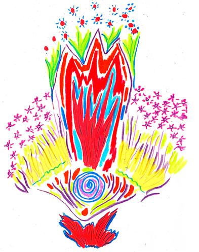 Pastel Drawing by Shelley Klammer