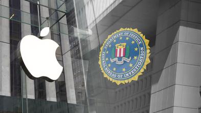 Apple und FBI Logos