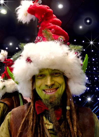 Walking Act für Weihnachten, der süße Weihnachtstroll
