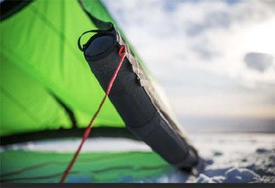 On kiteboarding kite