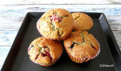 muffins zomerfruit