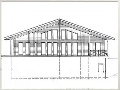 Blockhaus Planung - Bauantrag  - Baugenehmigung