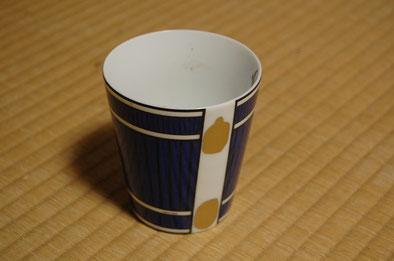 金継ぎのカップ