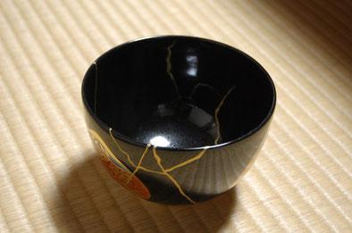 抹茶碗の金継ぎ