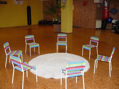 Der leere Englischraum - Fehlen nur noch die Kinder!