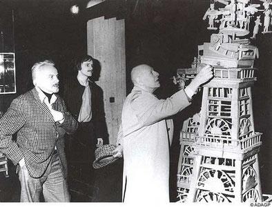 Slavko Kopac Michel Thévoz et Jean Dubuffet