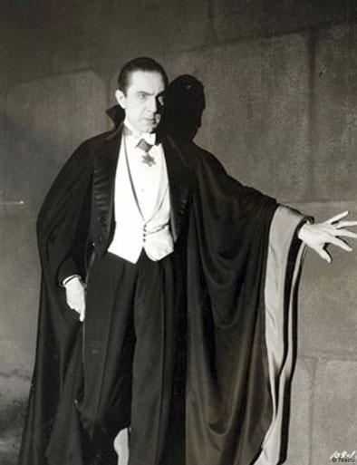 1931年映画『ドラキュラ』でドラキュラを演じたベラ・ルゴシ