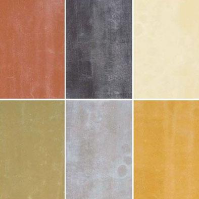 Zementgebundene Spanplatten durchgefärbt