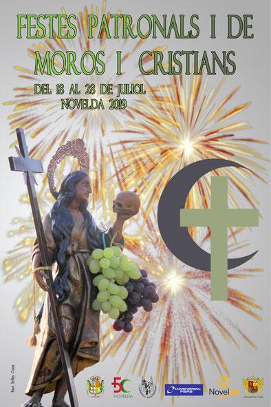 Programa de Moros y Cristianos en Novelda