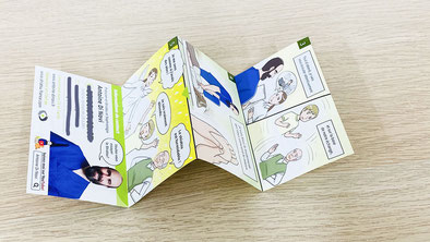 Manga business card