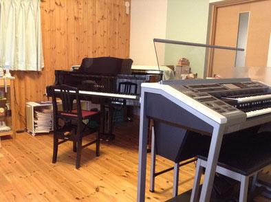 画像:ゆきえせんせいの音楽教室レッスン室