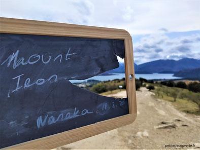 - Notre ardoise voyageuse - Mount Iron - Wanaka -
