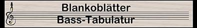 Blankoblätter Tabulatur Tabulaturpapier Bass Basstabulatur Basstabulaturpapier