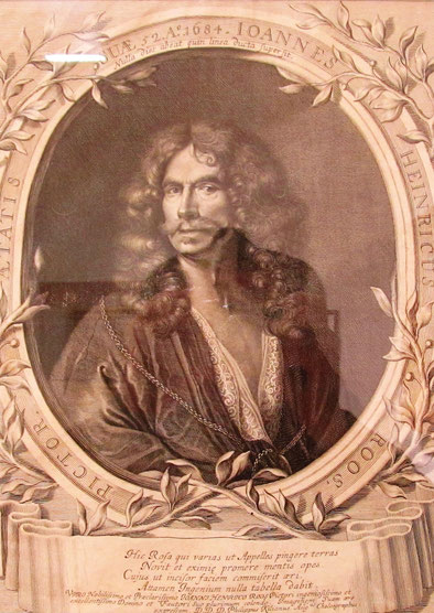 Johann Heinrich Roos Selbstportrait