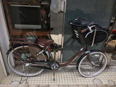 丸石サイクル子供乗せ自転車