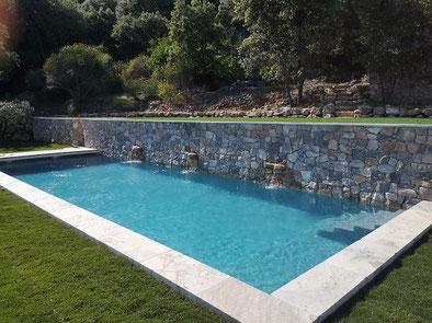 piscine gris antracite