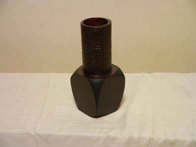 鎌倉彫創作展 2005年縄文花器|鎌倉漆工房いいざさ