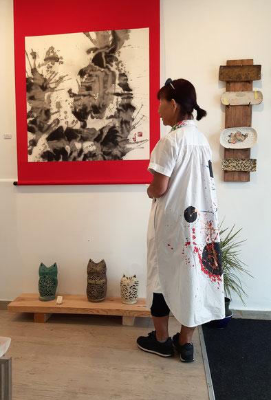Exposición japonesa Michiko Bokka