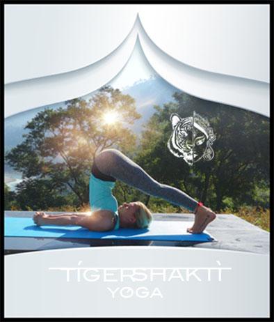 Tiger Shakti Yoga Nirmala showing Halasana