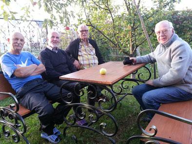 Beim Besuch bei Volodya zu Hause haben wir die weißrussische Gastfreundschaft erleben können. Nochmals danke!