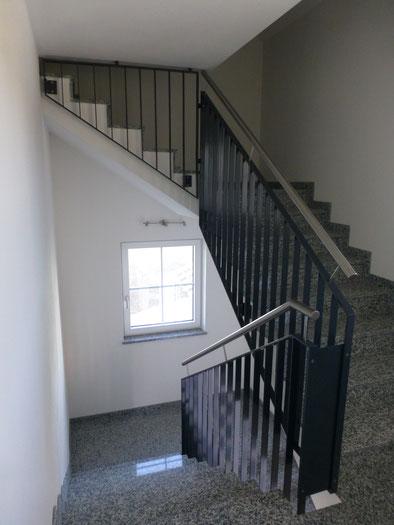 Stahl Treppengeländer