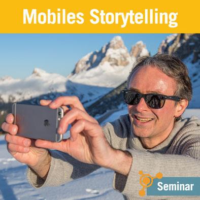 Tourismusakademie – Seminar Mobiles Storytelling von Günter Exel