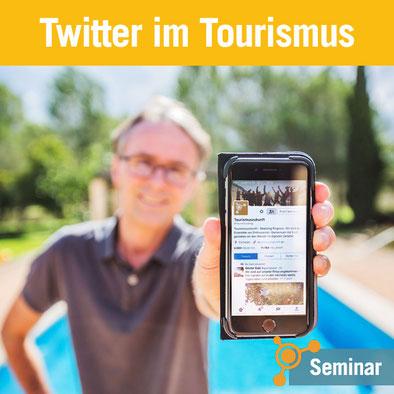Tourismusakademie – Seminar Twitter im Tourismus von Günter Exel