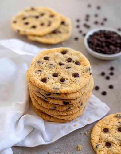double chocolate cookies, vegan, schokolade, kekse