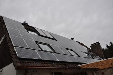 10,4 kWp Deisenhofen /  SunClass mit SMA