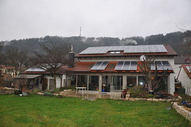 13,4 kWp Eichstätt  /  Suntech mit SMA